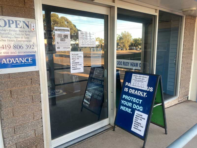 Open to care for the pets of Whyalla but it is not business as usual.